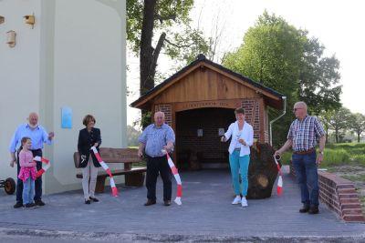 Wetterschutzhutte Eroffnet Gemeinde Nordwalde